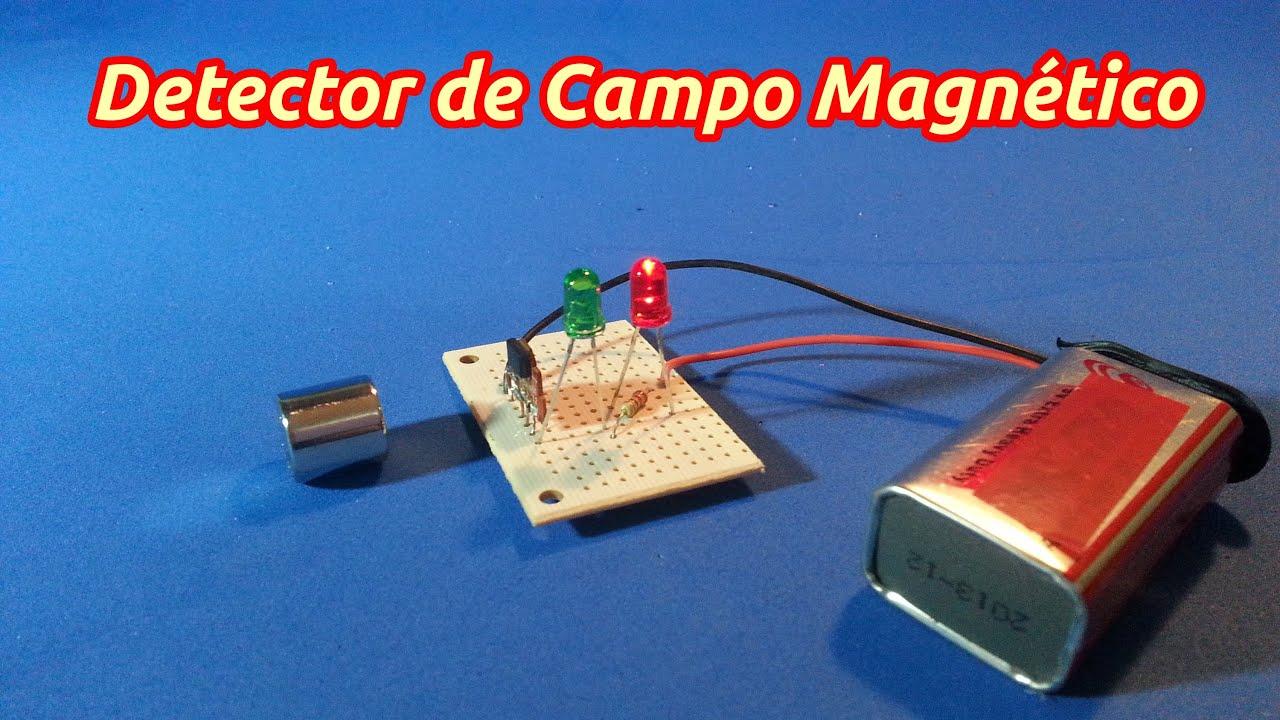 Detector de polaridad de campo magn tico youtube - Como vallar un campo ...