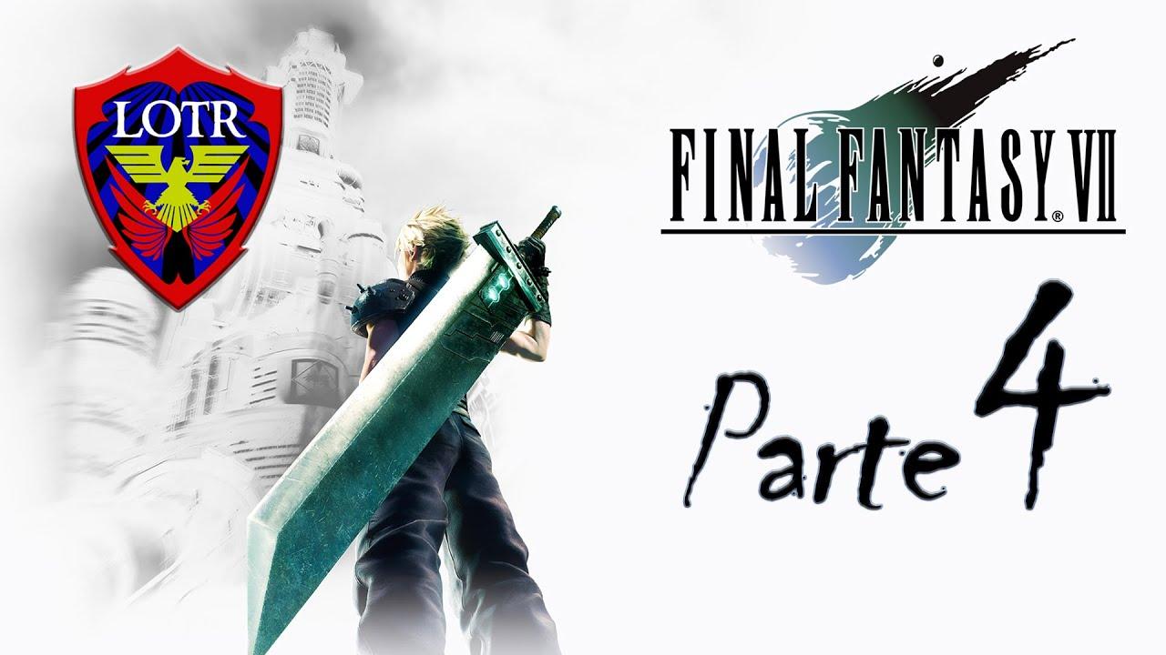 Final Fantasy VII Remake #4 - Cloudão da massa em altas confusões!