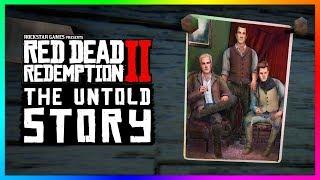 The UNTOLD Story Of The Van Der Linde Gang In Red Dead Redemption 2! (RDR2)