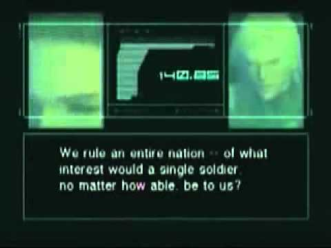 Artificial Intelligence Dystopia - Metal Gear Solid 2