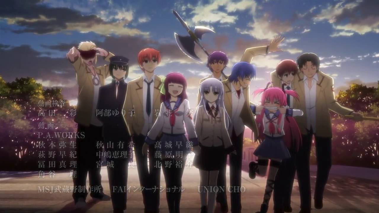 angel beats sad ending relationship