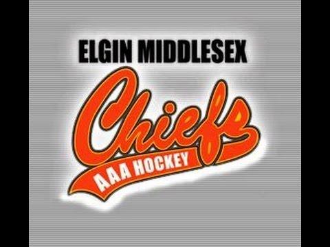 Elgin Middlesex Chiefs 2000 VS Vaughan Kings September 12th 2015
