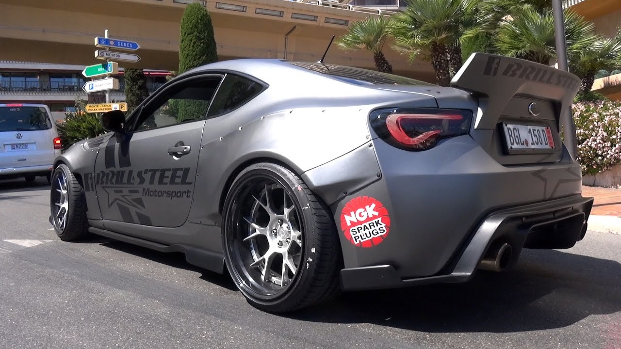 brill steel rocket bunny subaru brz 600hp ls3 v8 engine