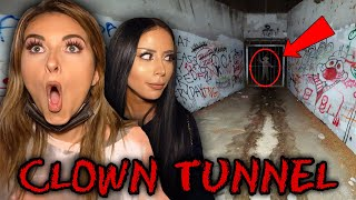 Our Horrifying Experience at CLOWN Tunnel (ft. Amber & Kat)