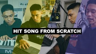 Music Producer Makes a Song From Scratch