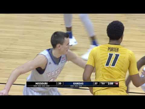 HIGHLIGHTS:  Mizzou vs Kansas Showdown for Relief