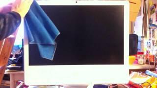 comment laver écran imac