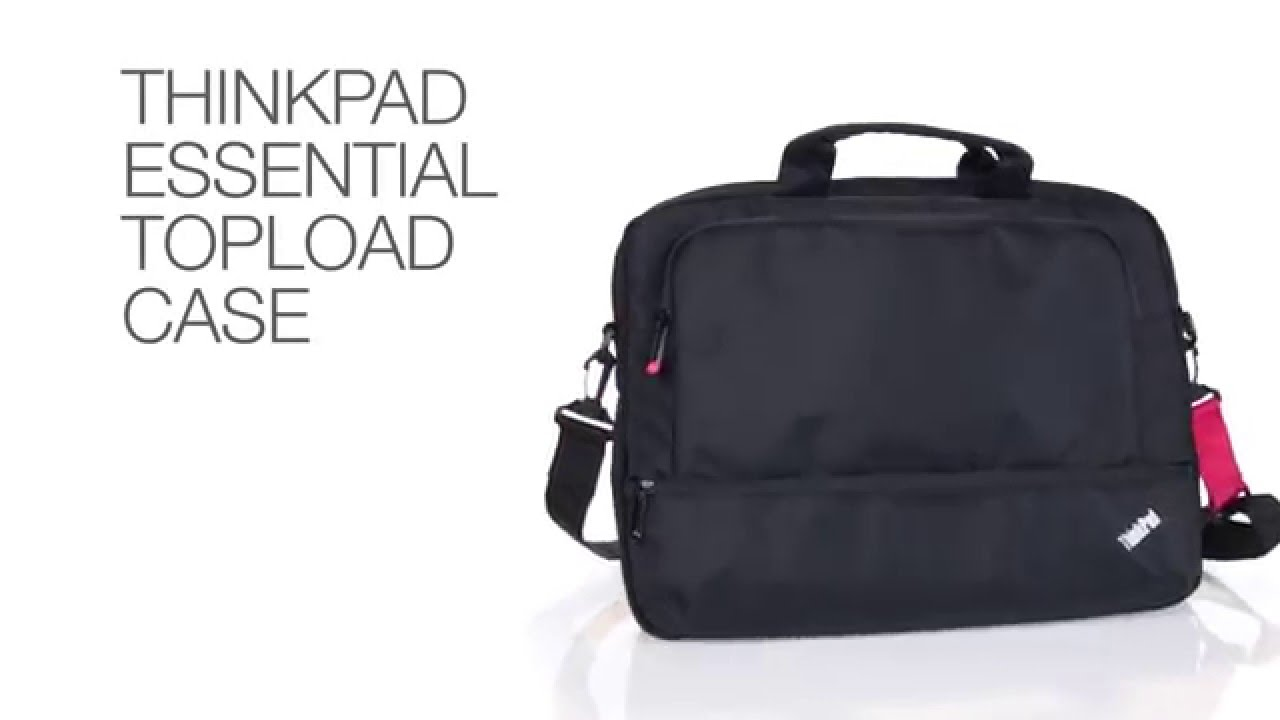 2f23825542a8 Lenovo Accessories  ThinkPad Essential Topload - YouTube