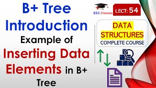 B+ Tree with Example of Inserting Data Elements in B+ Tree | #DataStructure Lectures in Hindi