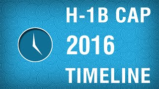 H1B Visa 2016 Timeline For Successful H1B Filing