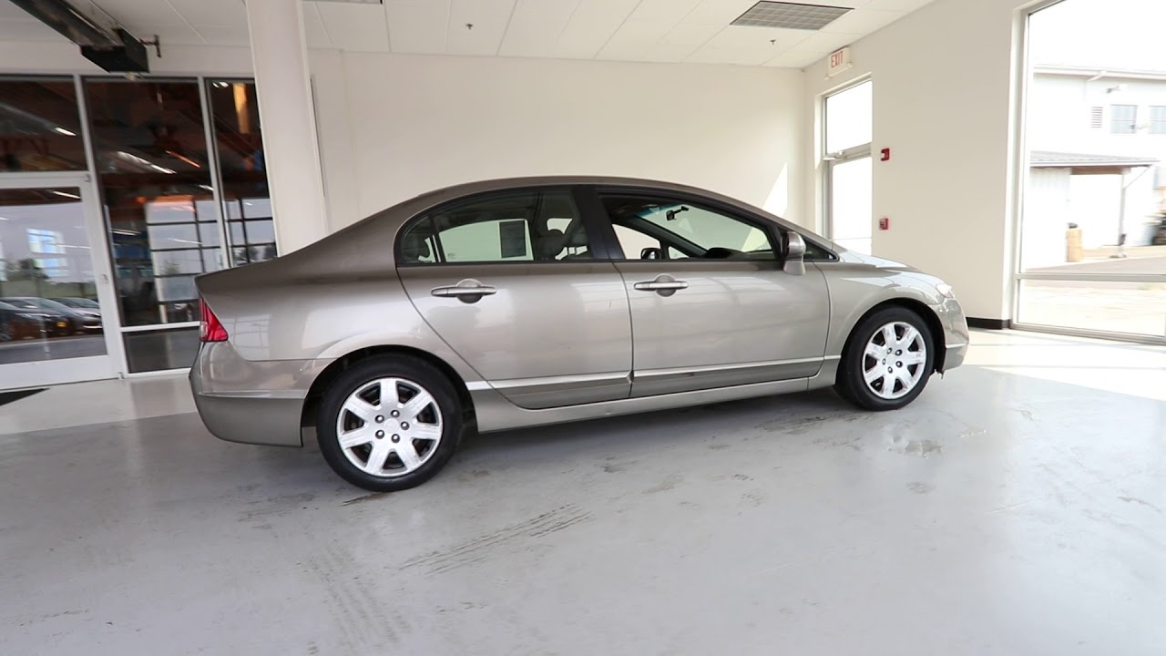2006 Honda Civic Lx Galaxy Gray Metallic 6l122174 Seattle Sumner