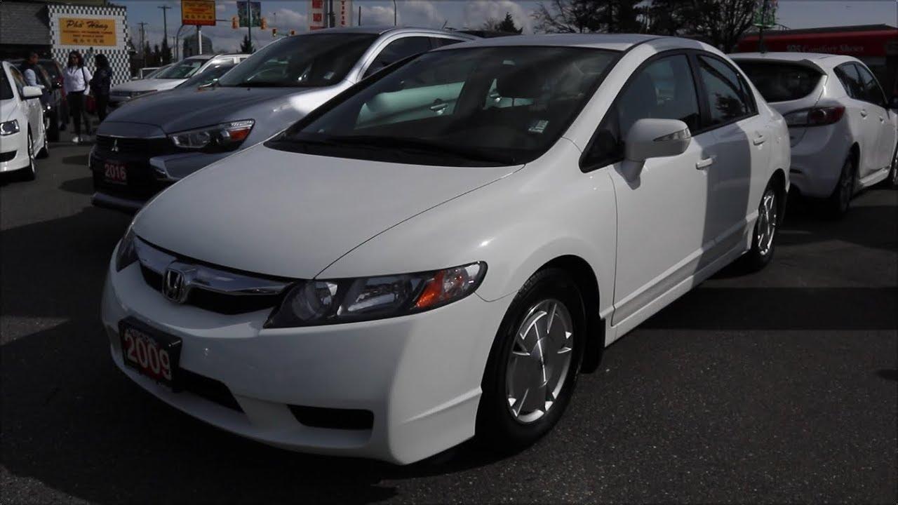 2009 Honda Civic Hybrid I Vtec In Depth Tour