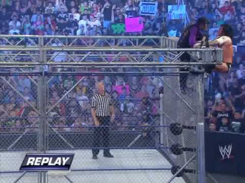 Jeff Hardy Vs CM Punk Steel Cage