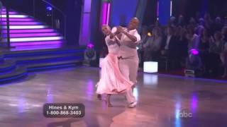 Hines Ward & Kym Johnson  Dancing with the Stars Foxtrot