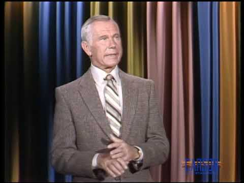 Johnny Carson Asks For Help From The Audience to Get Through The ...