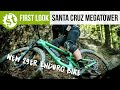 Santa Cruz' Brand New 29er Enduro Bike | First Look At The Santa Cruz Megatower