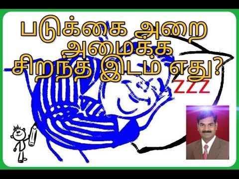 Scientific Vastu tamil - படுக்கை அறை எங்கு வர வேண்டும்?