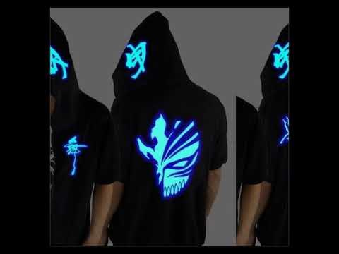 Blue Rave Ghost Hoodie