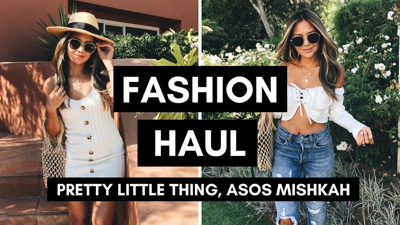 Fashion Try-On Haul August 2018 | Pretty Little Thing, Asos, Mishkah 4