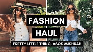 Fashion Try-On Haul August 2018 | Pretty Little Thing, Asos, Mishkah