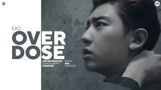 EXO  •「중독(Overdose)」•  Line Distribution  •  [Request]