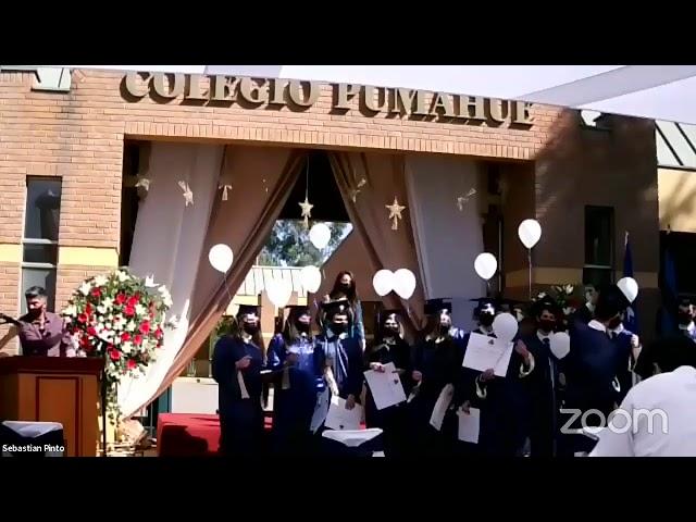 Graduación IV° medios Colegio Pumahue Peñalolén (Grupo 2, 22/12)