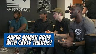 Russell Wilson vs. Cable Thanos in Smash Bros