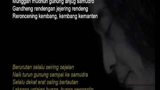 Sujiwo Tejo - Anyam Anyaman Nyaman (Lirik)