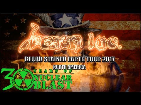 VENOM INC. - Blood Stained Earth Tour 2017 North America (OFFICIAL TOUR TRAILER)