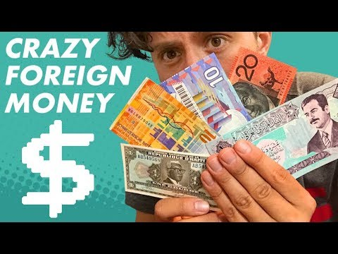 Crazy foreign money collection