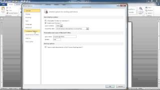How to Add the Developer Toolbar/Ribbon to Word 2010(Learn how to turn on the Developer Ribbon in Word 2010. In this video, we will go through the different ways to turn on, and then turn off, the Developer tab and ..., 2013-06-10T17:10:15.000Z)