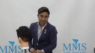 남자 사이드 뜨는머리 커트잘하는방법 마무리 전강하미용장…