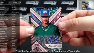 2/18/2019 2018 Elite Extra Edition Baseball Half Case Random Teams #24
