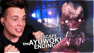 JAK TO PRZEŻYŁEM?! *RIP BIURKO* - Escape The Ayuwoki #4 [CHAPTER 3]