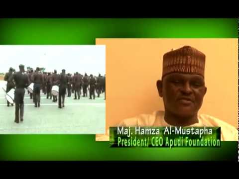 Maj. Hamza Al-Mustapha First Exclusive Interview On BOLDFACES