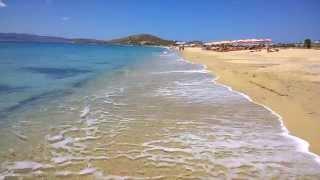 остров Наксос, пляж Агиос Прокопиос, июнь 2014 - (2)(здесь я кратко рассказываю про пляж Агиос Прокопиос на Наксосе, Кикладские острова, Греция. - цена аренды..., 2014-06-25T09:35:53.000Z)