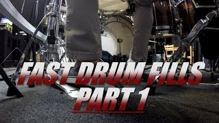 Drum Lessons - Fast Drum Fills - Part 1