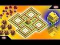 New Best Town Hall 6 TROPHY/HYBRID [defense]Base 2018!! COC TH 6 Hybrid Base Design - Clash of Clans