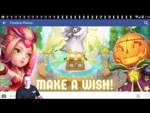 Castle Clash Will My Wish Please Come True ZNATION 4 LIFE