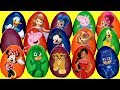 Opening 20 Play-doh Surprise Eggs With Puppy Dog Pals & Mickey