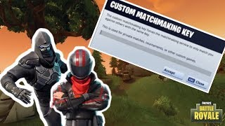 FORTNITE VBUCKS GIVEAWAY/ CUSTOM MATCHMAKING LIVESTREAM!!