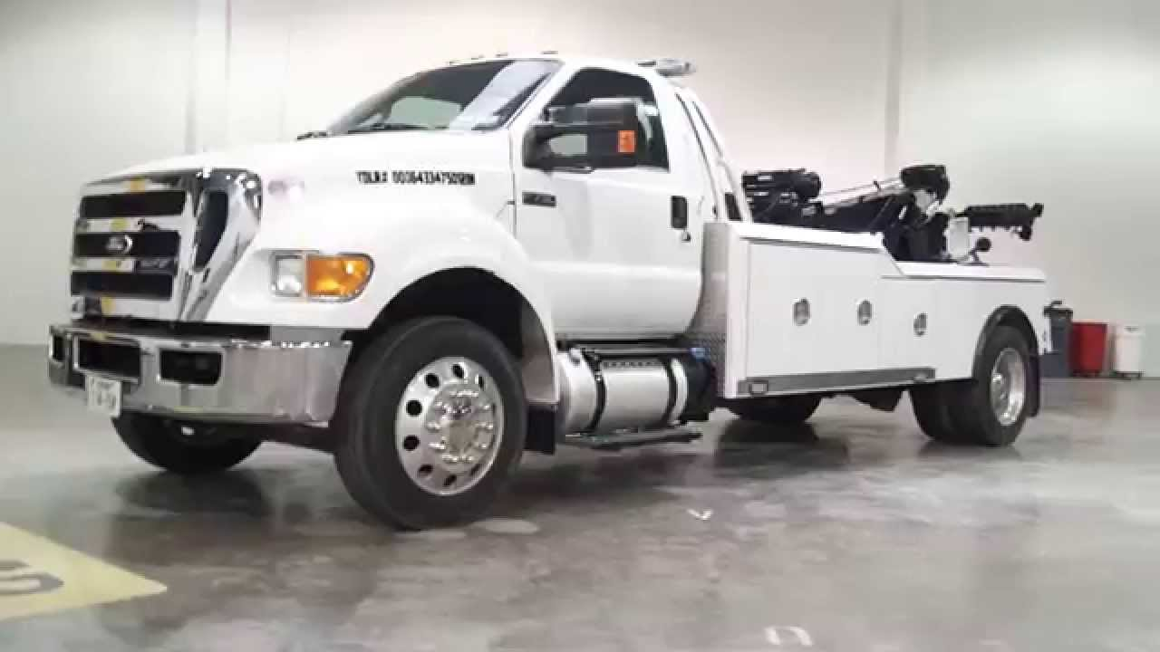 Wards Ford F  Super Duty Tow Truck Wrap