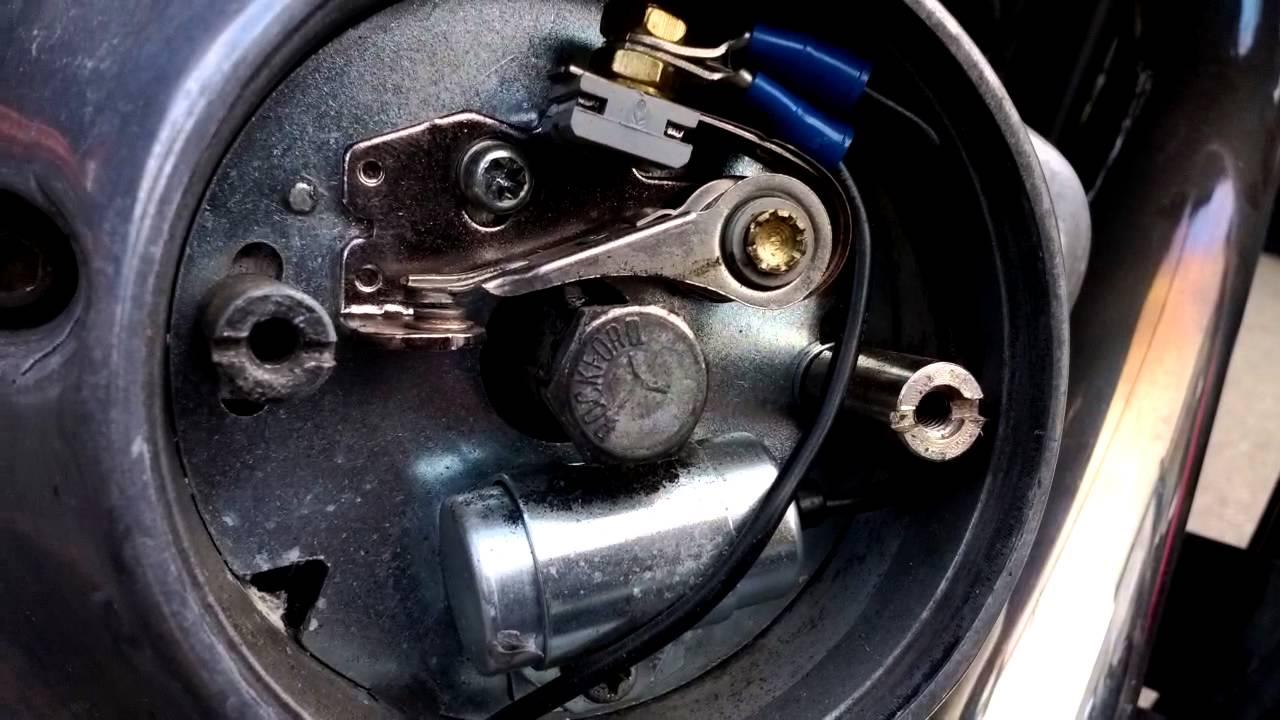 How to Set the Points on Harley Davidson Shovelhead  YouTube