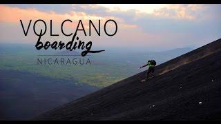 Volcano Surfing or Volcano Boarding in Cerro Negro, Nicaragua