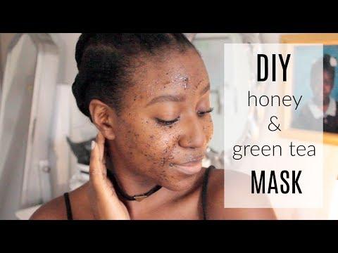 DIY Green Tea & Honey Face Mask (For Acne) @itsLakishaa