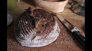 Five Seed Sourdough Bread | Tartine Style