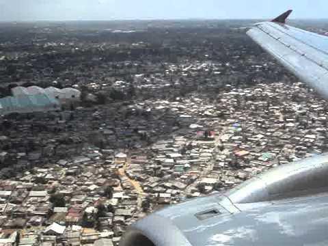 Landing at Dar Es Salaam