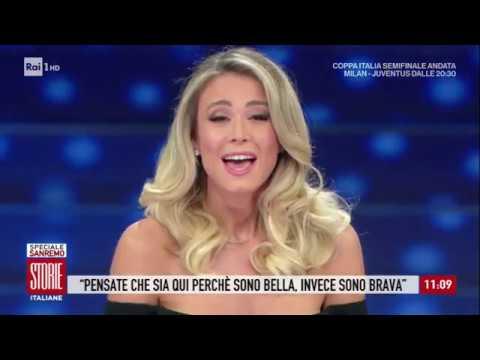 Le polemiche sul monologo di Diletta Leotta a Sanremo - Storie italiane 13/02/2020