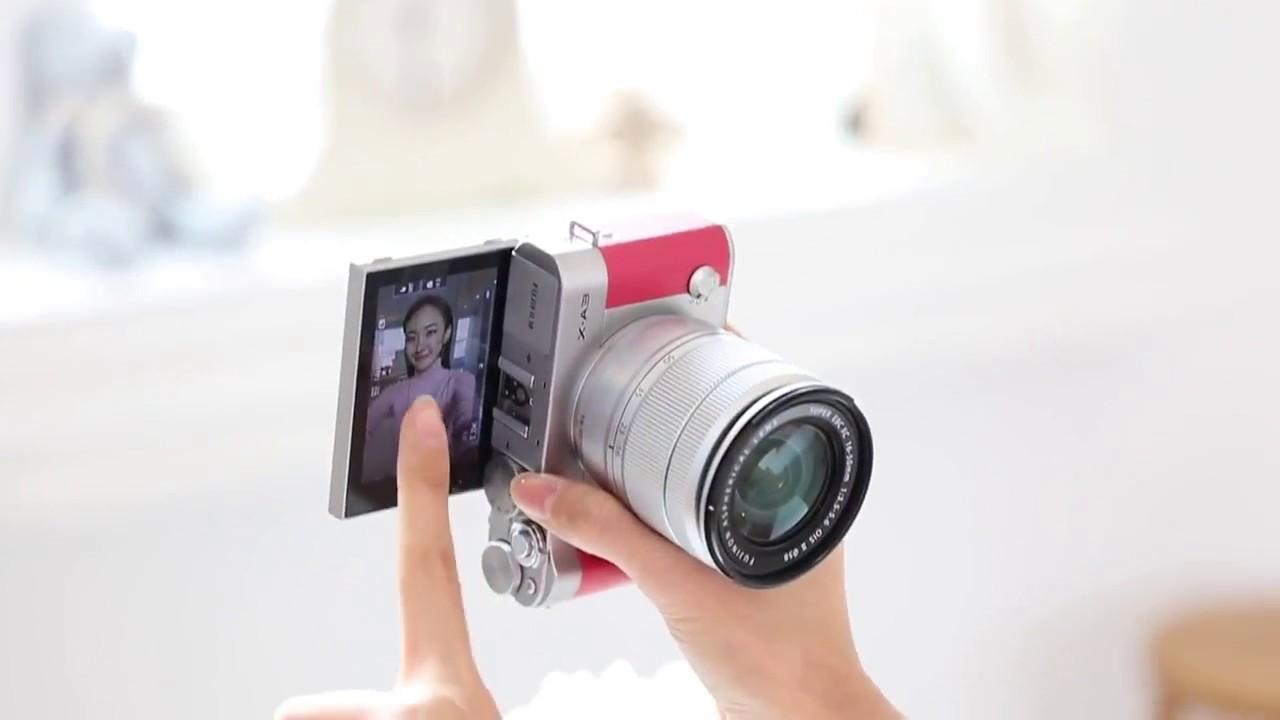 Fujifilm X A3 Selfie Test