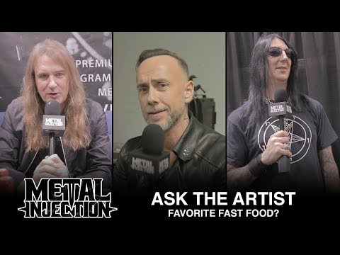ASK THE ARTIST  Favorite Fast Food Spots  Metal Injection